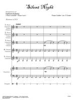 Silent Night - orchestra scolastica smim/liceo (partitura): Astro del Ciel