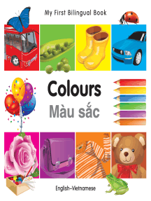 My First Bilingual Book–Colours (English–Vietnamese)