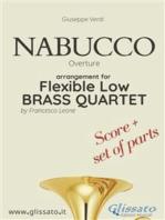 Nabucco - Flexible Low Brass Quartet (score & parts)