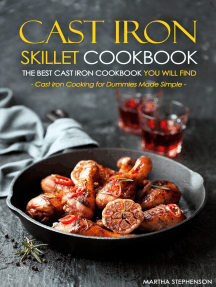 Cast Iron Skillet Cookbook: The Best Cast Iron Cookbook You Will Find