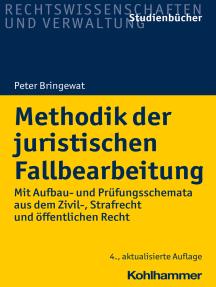 Methodik der juristischen Fallbearbeitung: Mit Aufbau- und Prüfungsschemata aus dem Zivil-, Strafrecht und öffentlichen Recht