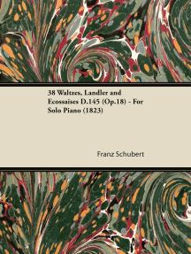 38 Waltzes, Ländler and Ecossaises D.145 (Op.18) - For Solo Piano (1823)