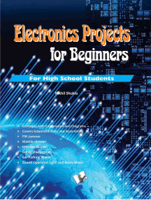 Electronics Projects for Beginners: Nnew innovative projects for high school students