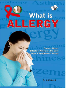 What is Allergy: Preventive actions that help avoid it
