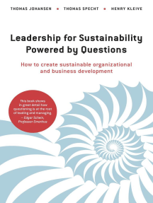 Leadership for Sustainability - Powered by Questions