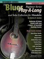 Blues Play-A-Long and Solo's Collection Beginner Series Mandolin