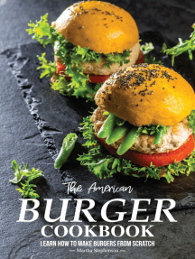 The American Burger Cookbook: Learn How to Make Burgers From Scratch?