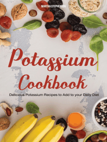 Potassium Cookbook: Delicious Potassium Recipes to Add to Your Daily Diet