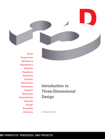 Introduction to Three-Dimensional Design: Principles, Processes, and Projects