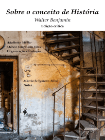 Sobre o conceito de História: Edição Crítica, organização e tradução de Adalberto Müller e Márcio Seligmann-Silva, notas de Márcio Seligmann-Silva