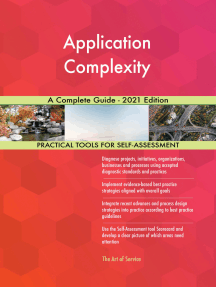 Application Complexity A Complete Guide - 2021 Edition