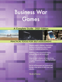 Business War Games A Complete Guide - 2021 Edition