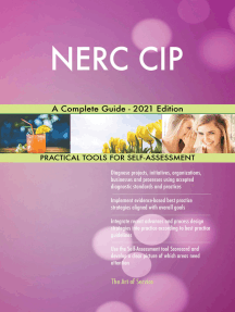 NERC CIP A Complete Guide - 2021 Edition