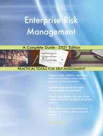 Enterprise Risk Management A Complete Guide - 2021 Edition