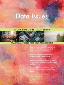 Data Issues A Complete Guide - 2021 Edition