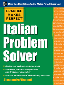 Practice Makes Perfect Italian Problem Solver (EBOOK): With 80 Exercises