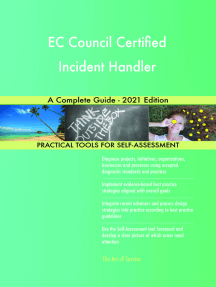 EC Council Certified Incident Handler A Complete Guide - 2021 Edition