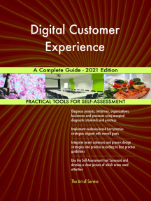 Digital Customer Experience A Complete Guide - 2021 Edition