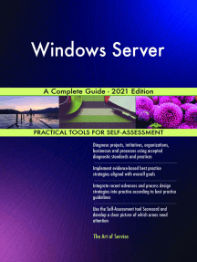 Windows Server A Complete Guide - 2021 Edition