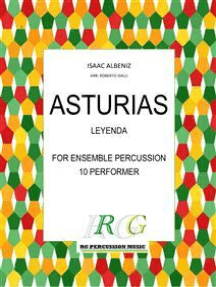 ASTURIAS: Leyenda ensemble percussion