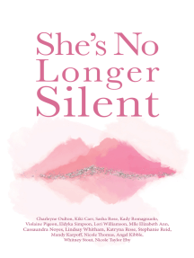 She's No Longer Silent: Healing After Mental Health Trauma, Sexual Abuse, and Experiencing Injustice