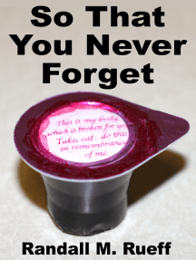 So That You Never Forget