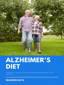 Alzheimer's Diet: A Beginner's Step-by-Step Guide With Recipes and a Meal Plan