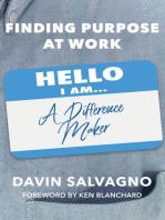 Finding Purpose at Work