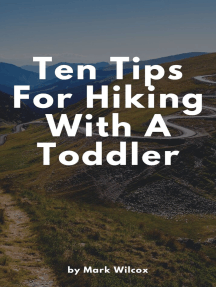 Ten Tips For Hiking With A Toddler
