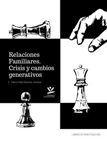 Relaciones familiares: Crisis y cambios generativos