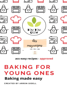 Baking for young ones: Baking made easy-acs easy recipes approved