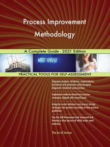 Process Improvement Methodology A Complete Guide - 2021 Edition