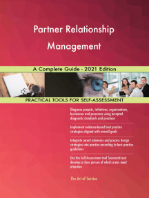 Partner Relationship Management A Complete Guide - 2021 Edition