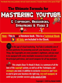 Mastering Youtube (Copyright,Ressources,Strategies & Tools)