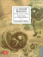 La tríade prenatal: Cordón, placenta, amnios. Supervivencia de la magia paleolítica