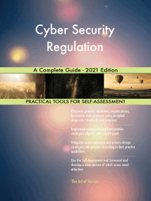 Cyber Security Regulation A Complete Guide - 2021 Edition