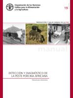 Detección y diagnóstico de la peste porcina africana