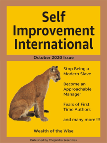 Self Improvement International: October 2020