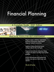 Financial Planning A Complete Guide - 2021 Edition