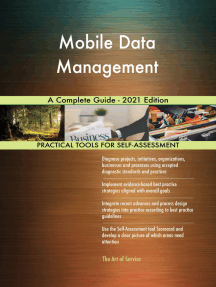 Mobile Data Management A Complete Guide - 2021 Edition