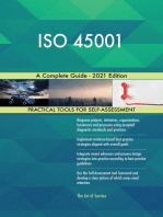 ISO 45001 A Complete Guide - 2021 Edition
