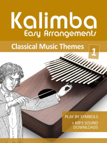 Kalimba Easy Arrangements - Classical Music Themes - 1: Kalimba Songbooks, #14