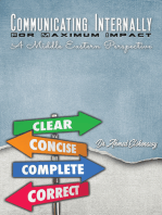Communicating Internally for Maximum Impact