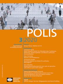 Sprachbildung im Politikunterricht: POLIS 3/20