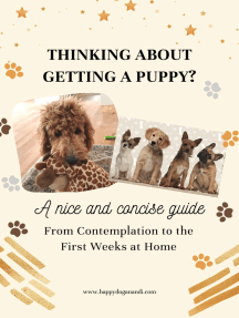 Thinking About Getting a Puppy?