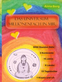 Das Universum millionenfach in mir: Meditation: 9000 Stunden Stille,10 Jahre, 15 Tagebücher, 1 Kissen und ich