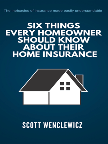 Six Things Every Homeowner Should Know About Their Home Insurance