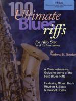 100 Ultimate Blues Riffs for Alto Saxophone & Eb instruments