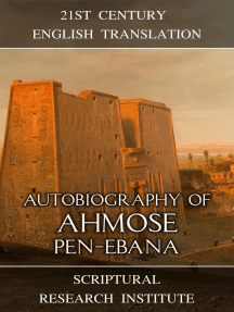 Autobiography of Ahmose Pen-Ebana