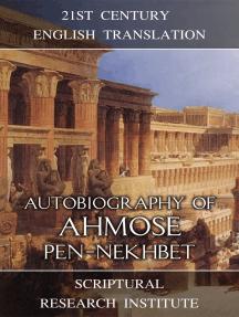 Autobiography of Ahmose Pen-Nekhbet